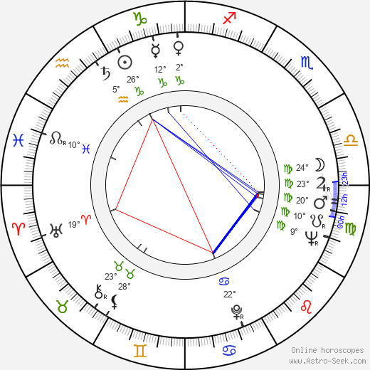 Susan Sontag birth chart, biography, wikipedia 2019, 2020