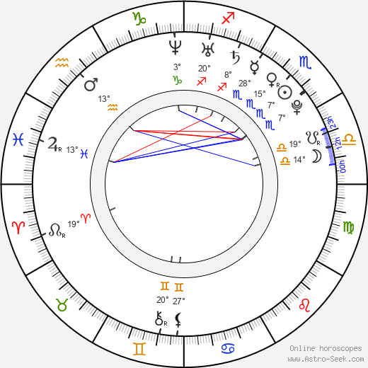 Sean Paul Lockhart birth chart, biography, wikipedia 2020, 2021