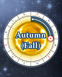 Autumnal Fall Equinox 2018
