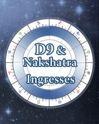 Nakshatras D9 Navamsas, Planetary Ingresses and Returns