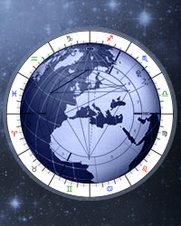 Relocation Chart, Relocation Astrology Online Calculator, Astro Map
