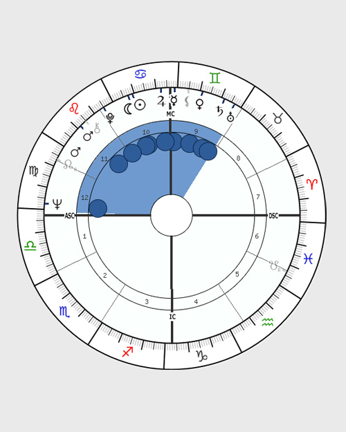Bundle - horoscope chart shape