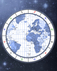 Time, Time Zones, World Map